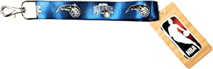 "PSG INC Orlando Magic Blue Premium 9"" Wristlet Lanyard Keychain Basketball"