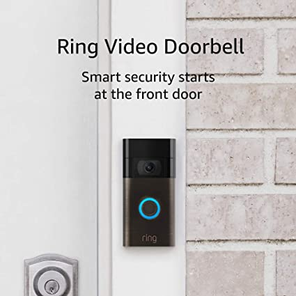 Ring Video Doorbell 1080p HD Video Improved M