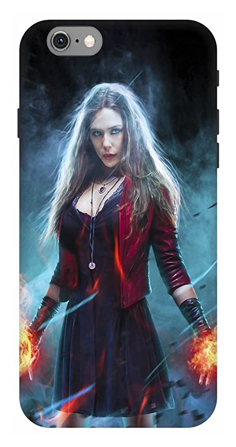 buy popular 9924e 616ac ARTGIRI Scarlet Witch Art Case Cover for iPhone 6 Plus: Amazon.in ...