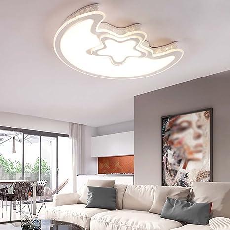 Amazon.com: DIDIDD Lámpara de Techo- Moderna luz LED cálida ...