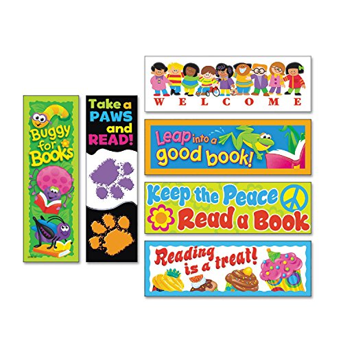 Bookmark Combo Packs - Bookmark Combo Packs, Celebrate Reading Variety #1, 2w x 6h, 216/Pack, Sold as 216 Each