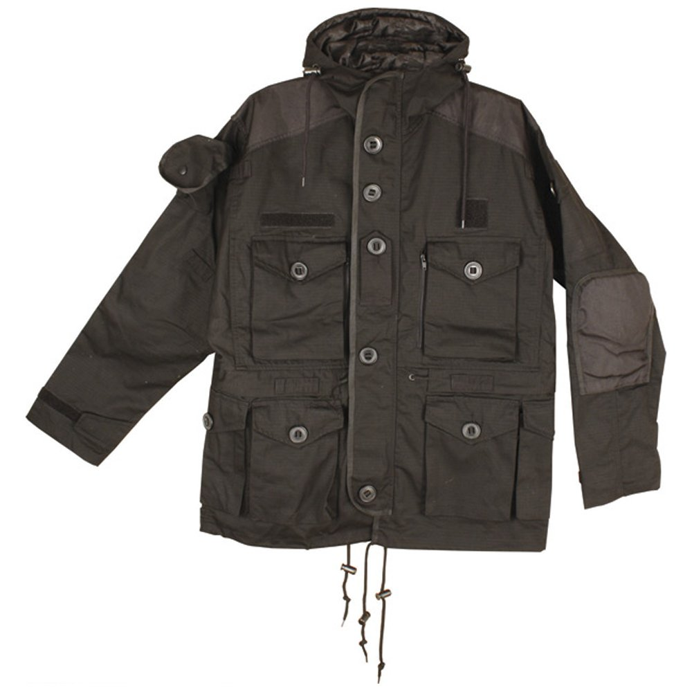Black Jacket/Smock - SAS Military Style (XL)