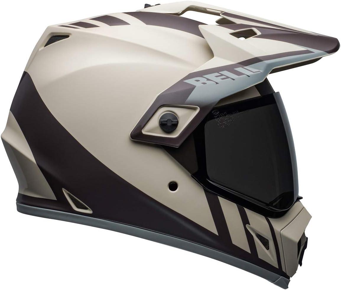 Bell MX-9 Adventure MIPS Full-Face Motorcycle Helmet (Dash Matte Sand/Brown/Gray, Large)