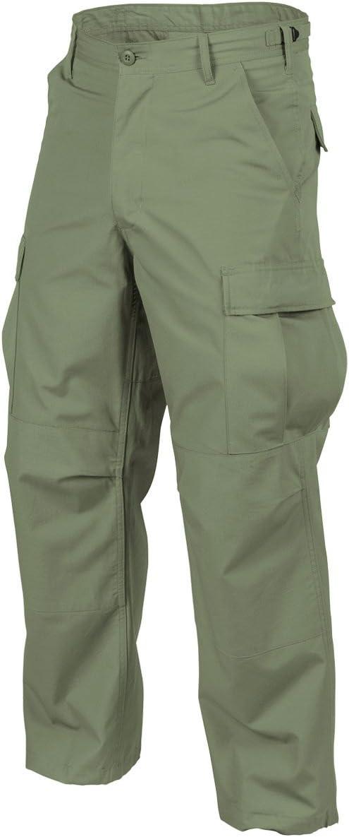 Helikon Genuine Mens BDU Trousers Polycotton Ripstop Olive