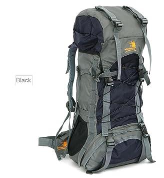 df5b1666ff 60L Waterproof Durable Outdoor Climbing Backpack Bag Women   Men Hiking  Athletic Sport Travel Backpack High