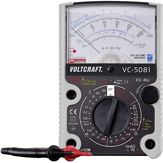 Voltcraft Vc 5081 Hand Held Multimeter Analogue Cat Iii 500 V Business Industry Science