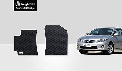 Amazon Com Toughpro Toyota Corolla Floor Mats Two Front Mats