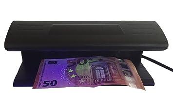 Profesional - Detector de billetes falsos billetes Tester Banco Ordenador ntester Detector de billetes con fuerte 9 W Lámpara UV: Amazon.es: Oficina y ...