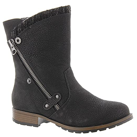 Women's Rabble Boot Black Textile/Synthetic