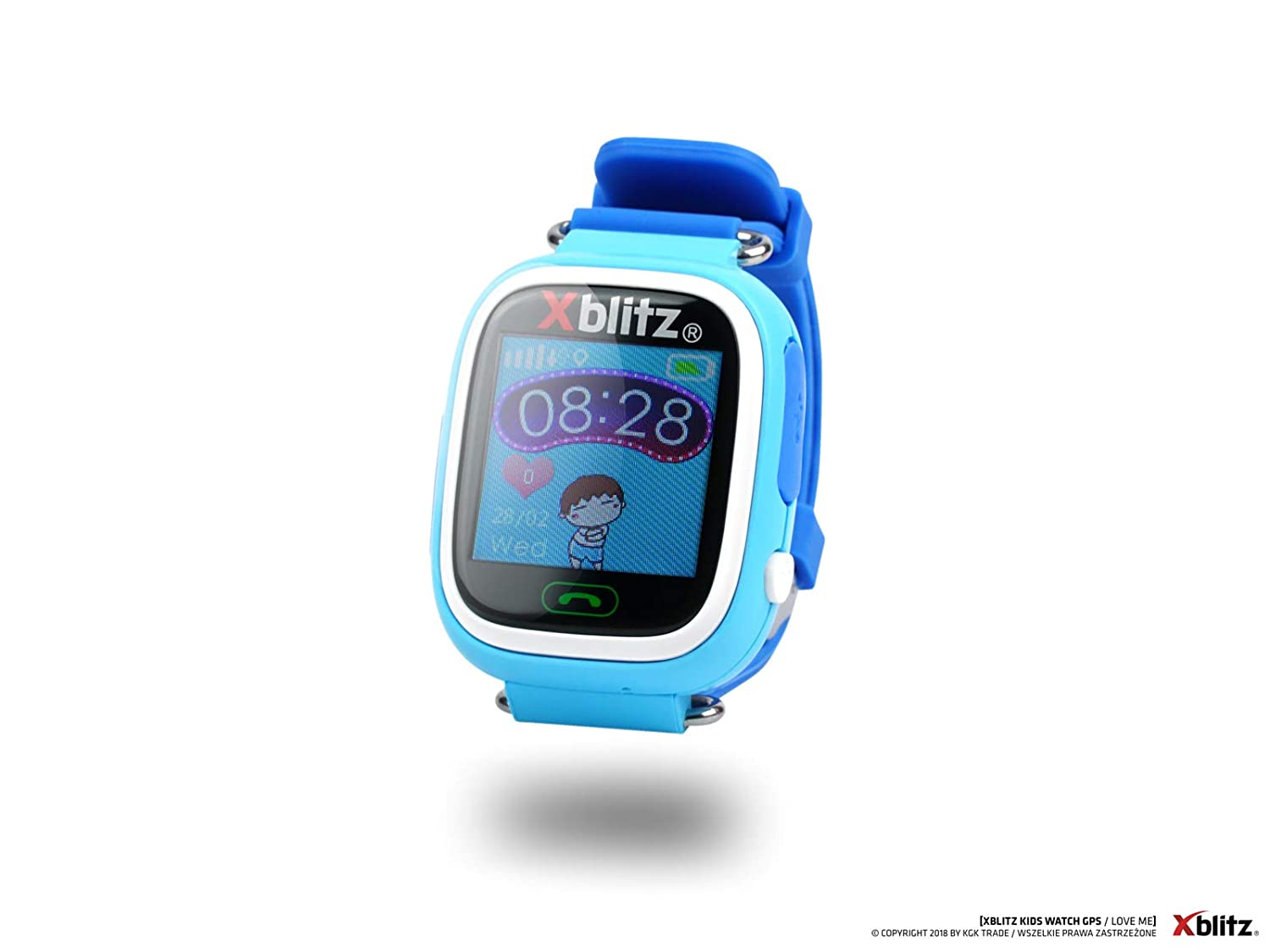 xblitz Kids Watch GPS de Love Me Azul, Interactivo ...