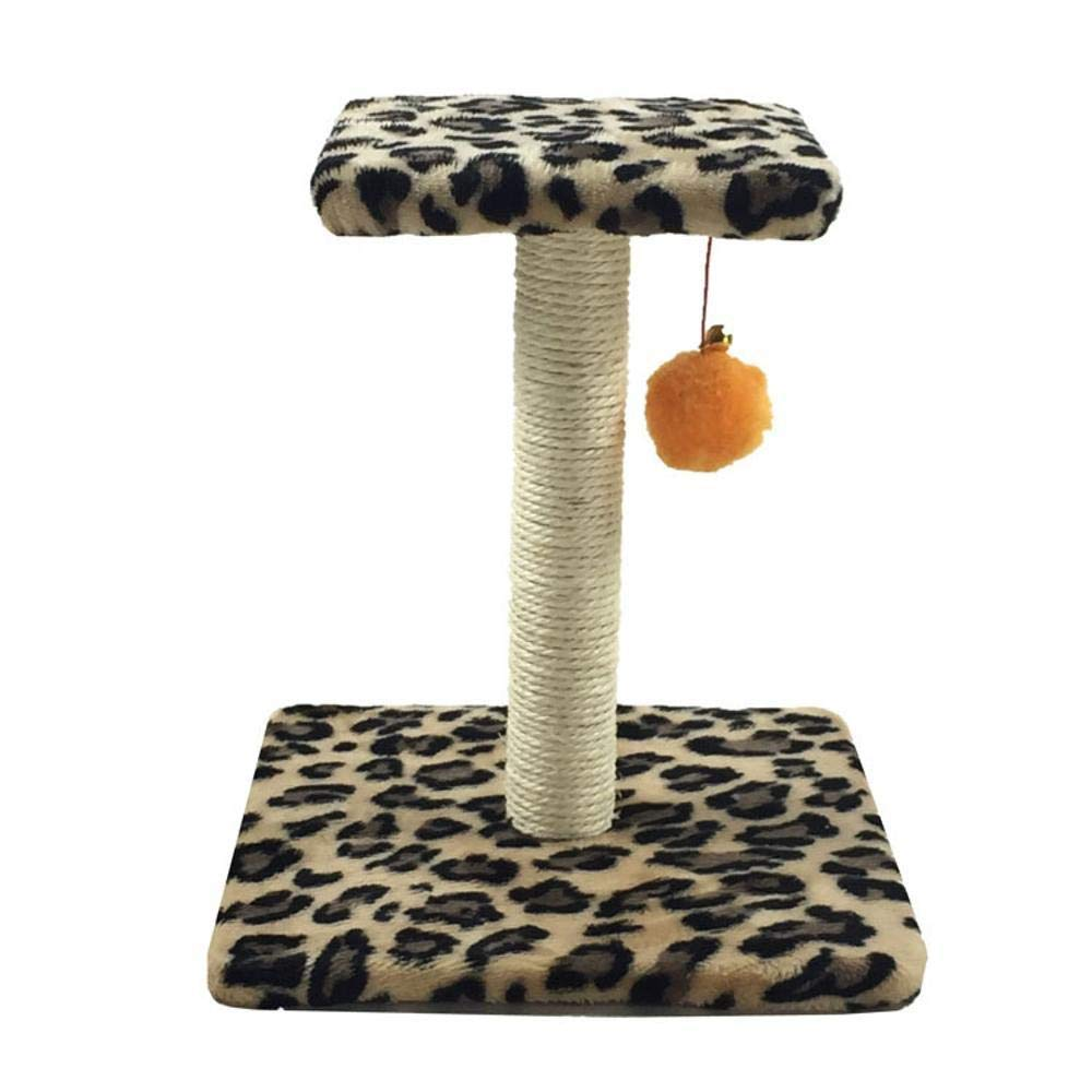 Beige Deluxe Multi Cat Tower Creative Play Towers Trees for Cats Cat Climb Frame cat nest cat Tree cat Jumping Platform for Game 26cm 26cm  29cm (color   Beige)