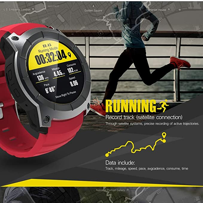 Amazon.com: GLO BUY Bluetooth GPS Smart Watch S958 Sport ...