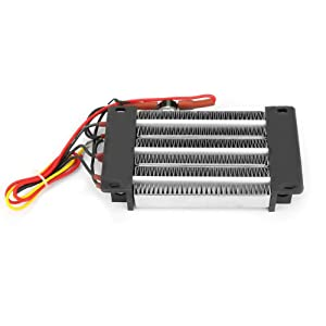 110V 750W PTC Ceramic Air Heater Surface Insulated Energy Saving Constant Temperature PTC Heating Element Small Space Car Fan Heating