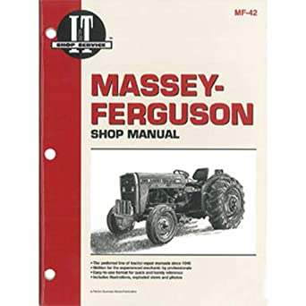 Amazon.com: SMMF42 MF-42 MF42 New Fits Massey Ferguson Tractor Shop Manual  230 235 240 245 250: Industrial & Scientific