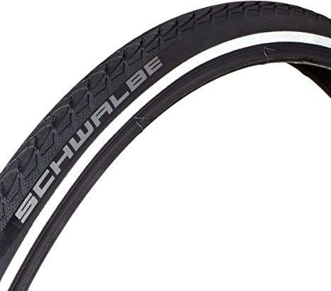 Schwalbe Neumático 24 x 1.00 (25-540) Marathon Plus Negro/Reflex ...