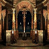 GladsBuy Grand Castle 10' x 10' Digital Printed Photography Backdrop Fence and Pillars Theme Background YHA-062