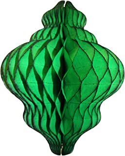 product image for 3-Pack 11 Inch Paper Lantern Decoration, Dark Green