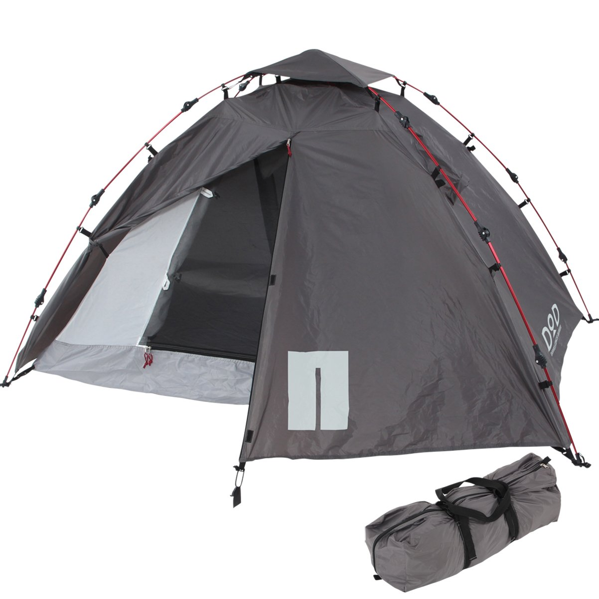 DOPPELGANGER OUTDOOR 2人用 ライダーズワンタッチテント T2-275