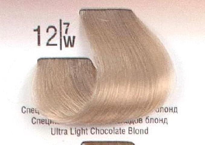 Tinte Permanente Spa Master, 12.7 Rubio Ultra Claro Chocolate - 100ml