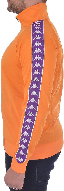 Kappa 222 Banda Anniston Authentic Track top Men Orange/Purple