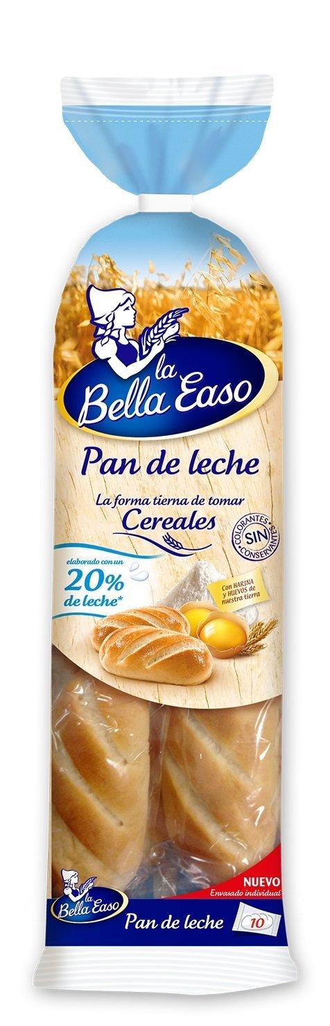 Pan de Leche La Bella Easo - 10 uds - 350 gr: Amazon.es ...