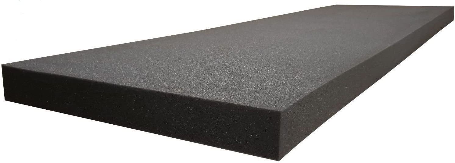 """Seat Replacement Professional 4/"""" X 48/"""" X 45/"""" Pallet Size Upholstery Foam Cushion"""