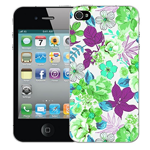 Mobile Case Mate iPhone 5s Silicone Coque couverture case cover Pare-chocs + STYLET - Garland pattern (SILICON)