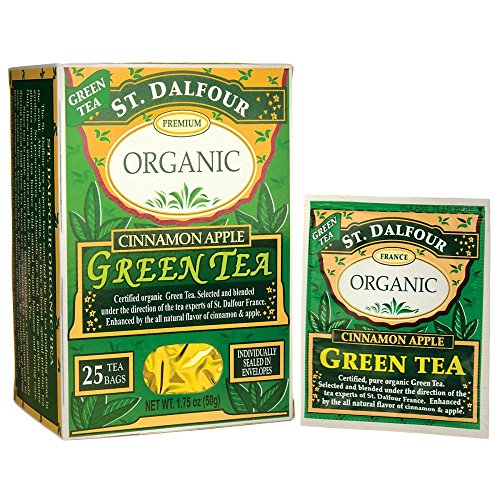Organic Cinnamon Apple Green Tea 25 Bag(S) Review
