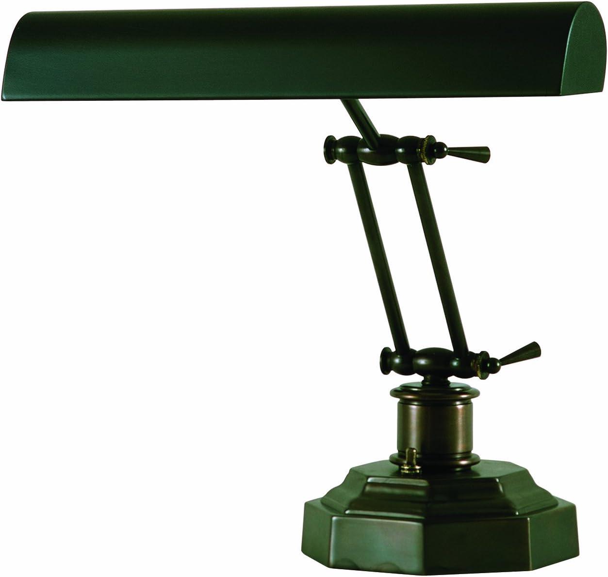 House of Troy P14-203-81 12-1 2-Inch Portable Desk Piano Lamp Mahogany Bronze