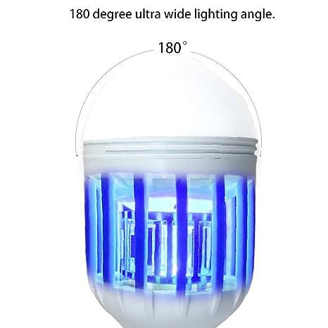 Linterna Camping Antimosquitos Lámpara Luz UV Desmontable ...