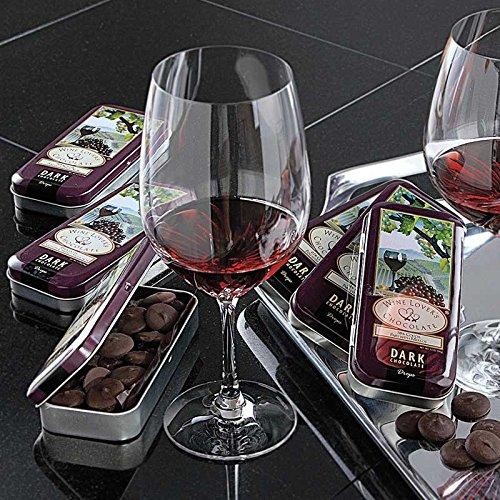 Set Includes 6 Tins of Premium Chocolate