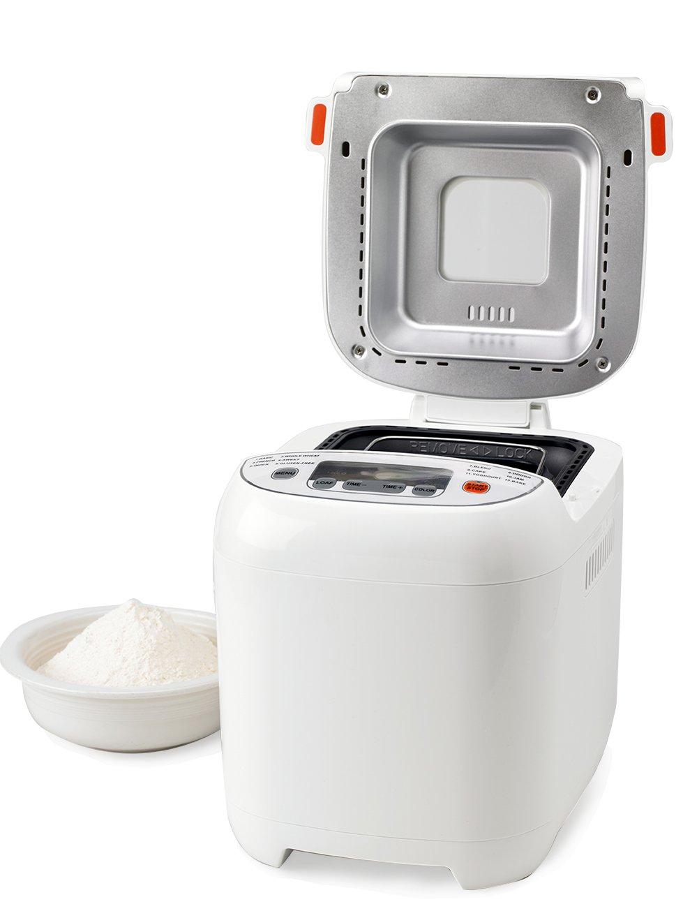 Nesco BDM-110 580W Blanco - Panificadora (Blanco, 680 g, Masa, Pan francés, Oscuro, Luz, Medio, 13 h, Botones): Amazon.es: Hogar