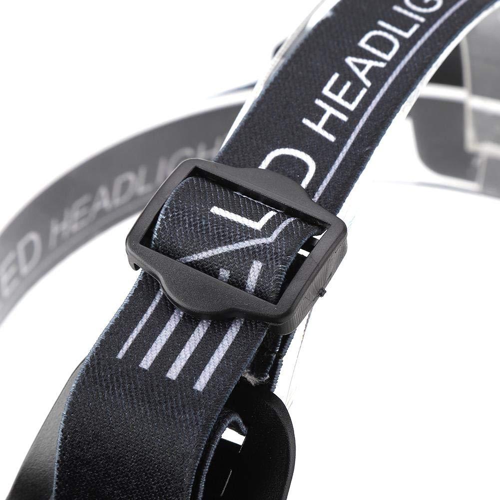 Riuty Linterna Frontal Led 2000Lm USB Impermeable Recargable Luz De Trabajo De Inducci/óN Recargable para La Pesca De Excursi/óN Al Aire Libre