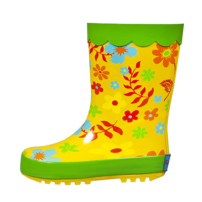 Amazon.com | Clearance Sale! RanyZany Fancy flower boot 2 | Rain