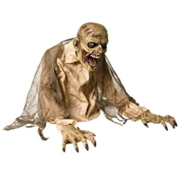 2 gaseous zombie fogger animated prop halloween decorations scary haunted