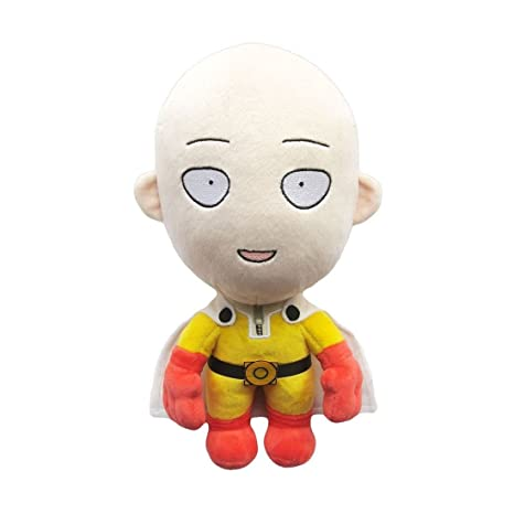 Sakami Merchandise - One-Punch Man peluche Saitama Happy Version 28 cm - 4260434770078
