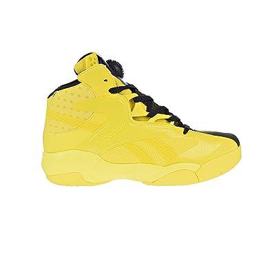 780038d1f8dc ... canada reebok shaq attaq modern mens basketball shoes yellow spark  black bd4602 8 d 23206 60832