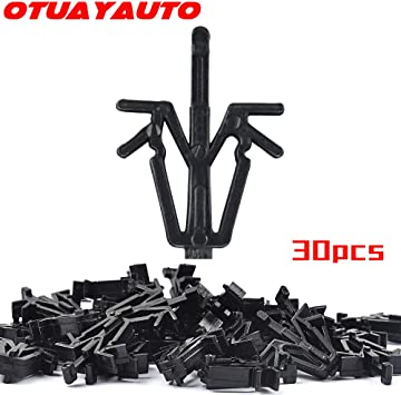 Black OxGord Grill Clip Retainers Best for 1989-2002 Toyota 4Runner Replaces 90467-12040 Interior Trim Panel Grille Clips Pack of 10