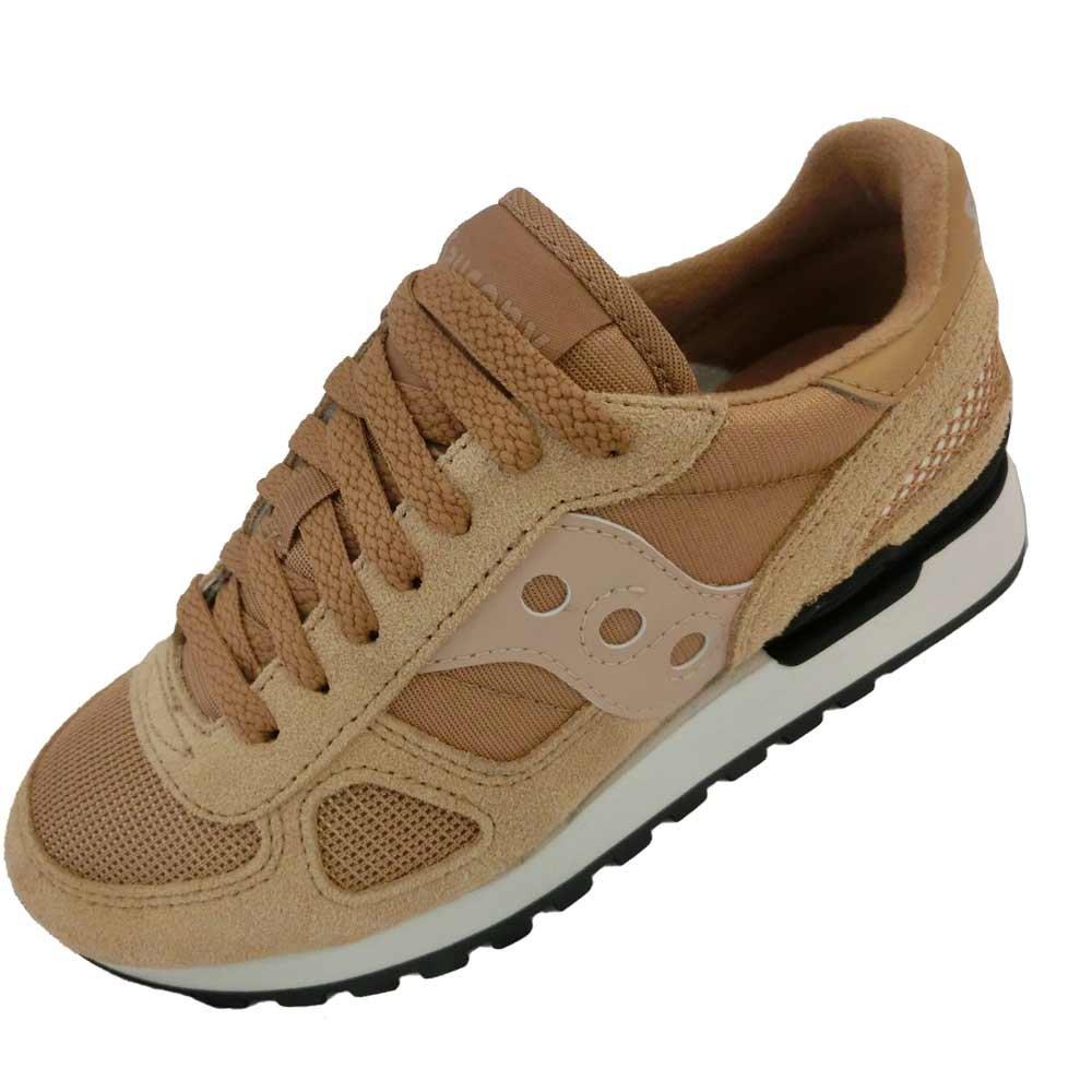 Saucony Originals Women's Shadow Original Running Shoe B071G1JGP4 8.5 B(M) US|Tan