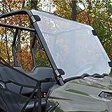 Orion Motor Tech Polaris UTV Full Windshield for 10-14 Ranger 400, 10-14 Ranger 500 Midsize, 12-14 Ranger 800 Midsize, 14 Ranger 570, 10-14 Ranger EV, 10-14 Ranger 500 Midsize Crew