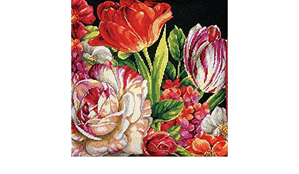 Hydrangea Bloom Needlepoint Kit Dimensions D20053
