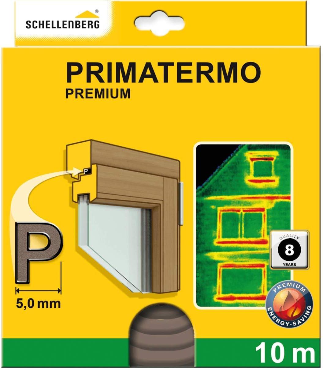 Schellenberg 66333 Fenster Dichtung Premium P Form 9 X 5 Mm 10 M Gummidichtung Zur Abdichtung Von Spalten Auch An Türen Baumarkt