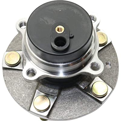 Wheel Hub and Bearing compatible with 2006-2015 Mazda MX-5 Miata Front Left or Right RWD With ABS Encoder Studs: Automotive