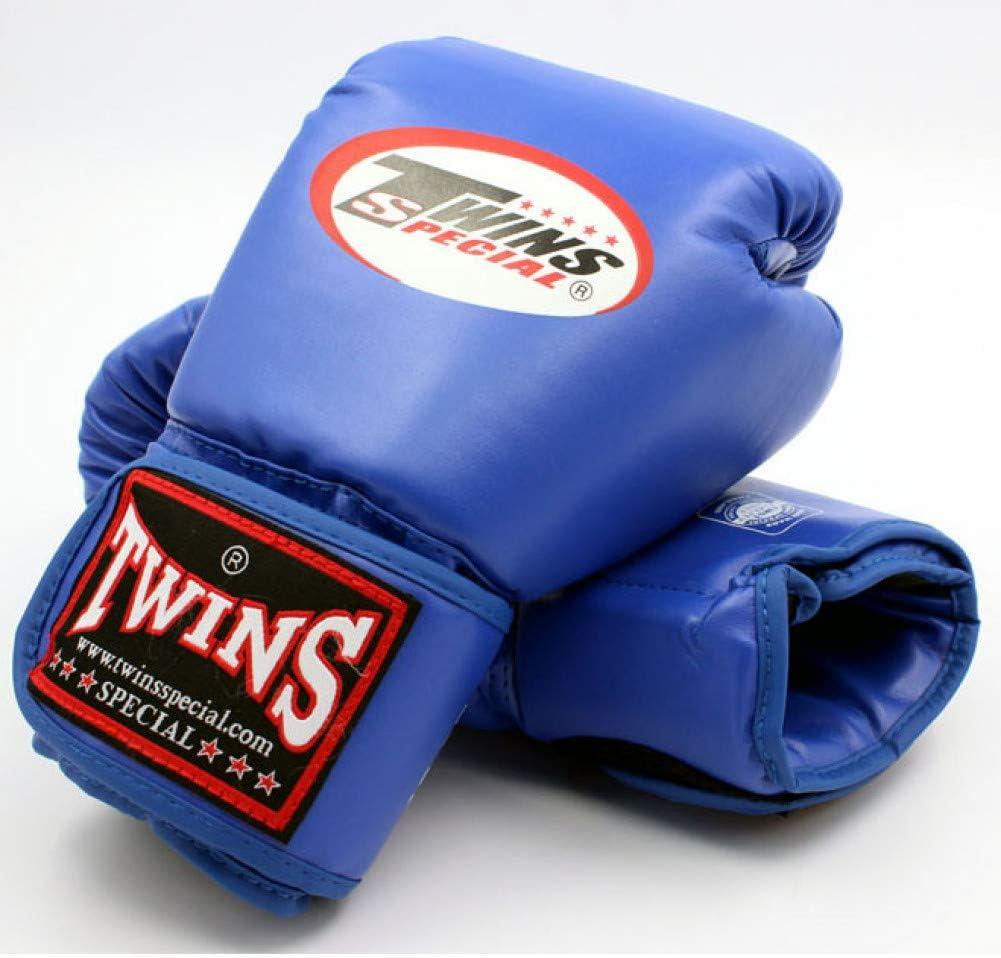 ERHUAN 8 10 12 14 Oz Twins Gloves Kick Boxing Gloves Leather Pu Sanda Sandbag Training Black Boxing Gloves Men Women Guantes Muay Thai, ,