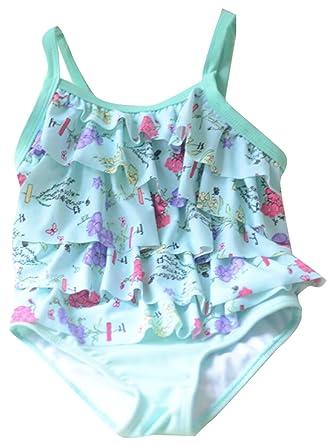 Amazon.com: De octubre de elfo bebé niñas traje de baño de ...