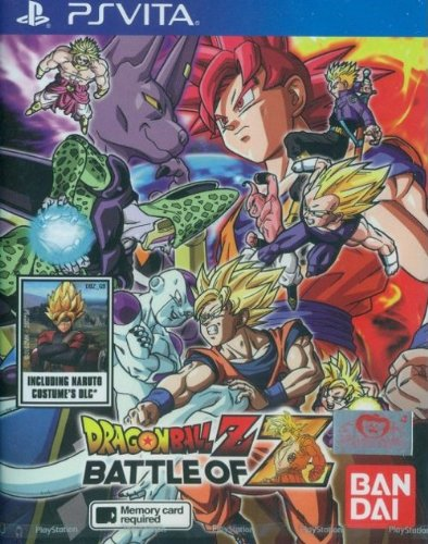 Dragon Ball Z - Battle of Z [PlayStation Vita] [English Version] (Dragon Ball Z Vita)