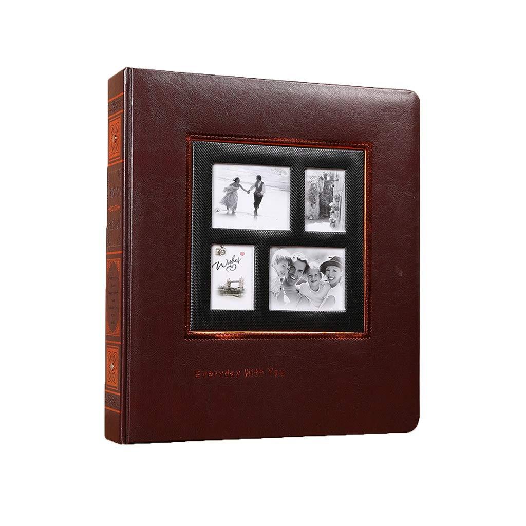 Photo Organizer Interstitial Album Book Travel Wedding Record Album Family Memoir Best Gift (Color : Black, Size : 3033.53.8cm) by Albums Inc.