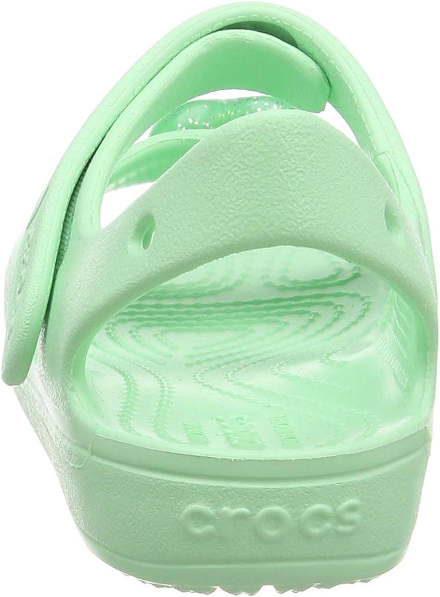 Crocs Kids Preschool Classic Cross-Strap Sandal Slip on Water Shoes