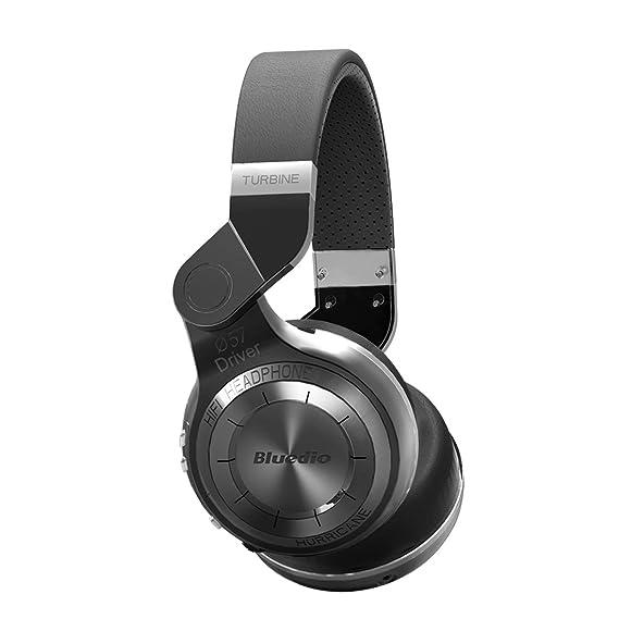 ab9327caa50 Bluedio T2 audífonos Bluetooth Plegables Manos Libre (Negro): Amazon ...