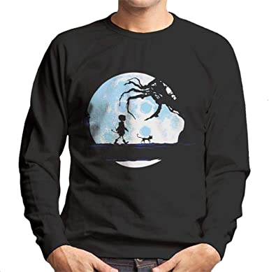 Cloud City 7 Perfect Moonwalk Coraline Men S Sweatshirt Amazon Fr Vetements Et Accessoires